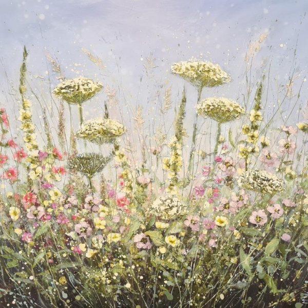 Marie Mills 80x80cm.. 'just Bee'