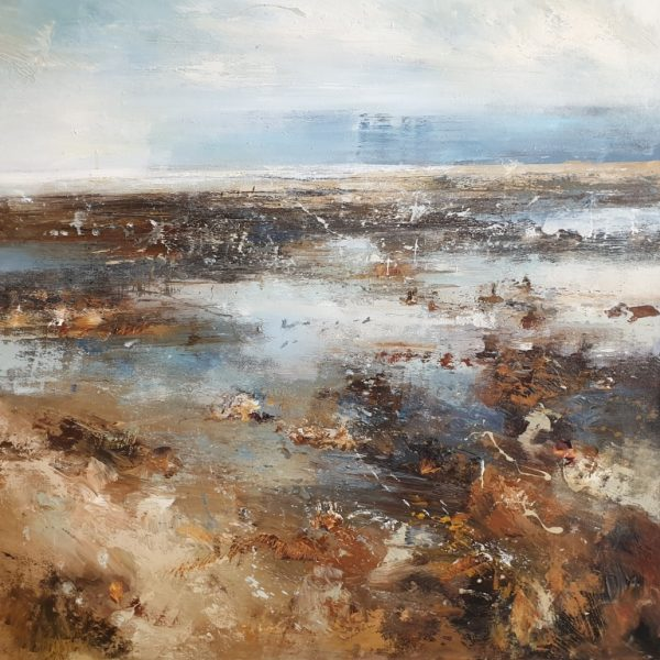 New - Claire Wiltsher Time collector V111 80x80cm £1295