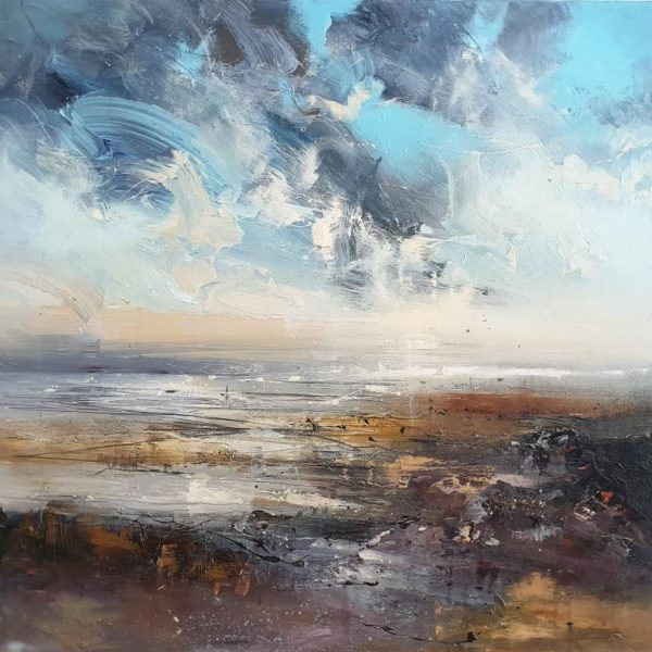 New - Claire Wiltsher Along the shore line 80x80cm £1295