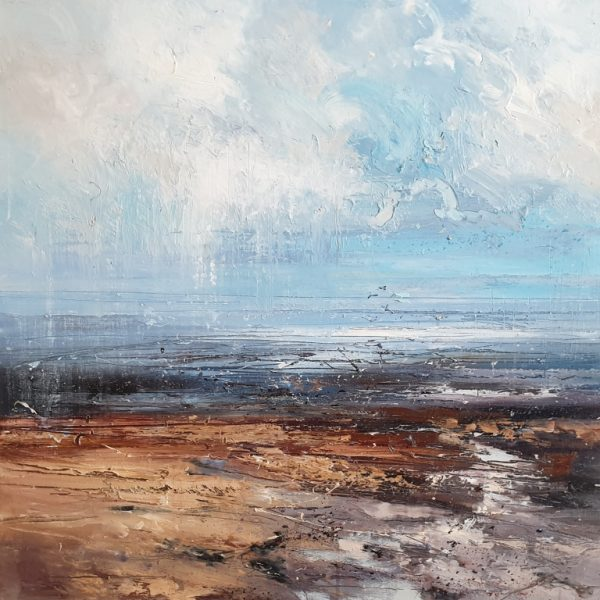 New - Claire Wiltsher Flying high V1 70x70cm £1125