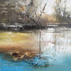 New - Claire Wiltsher On the edge of spring 1V 40X40CM £675