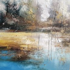 New - Claire Wiltsher On the edge of springV 60X60CM £945