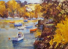 October afternoon, Warfleet, Dartmouth 40x60 £1200