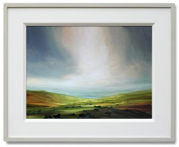 SUMMER IN THE LAKES FRAMED