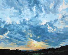Nick Vivian Stormy Light 100 x 80 x 4cm
