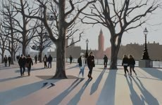 Southbank Sunset 76x51 £1295