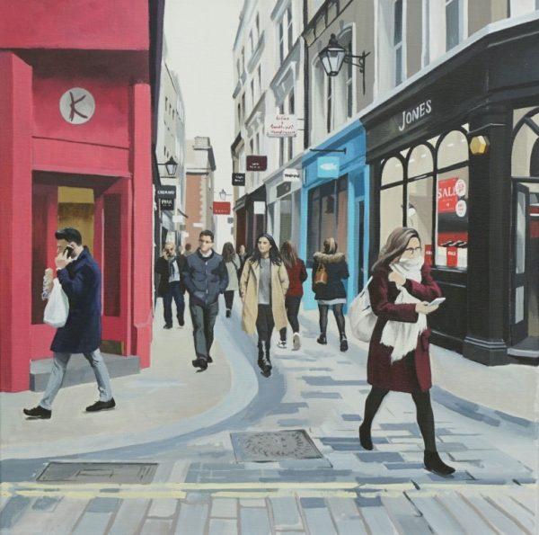 Bow Lane, London 50x50 £995