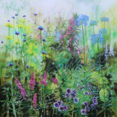 Dylan Lloyd - Pathways III 2020. 60 x 60cm £750