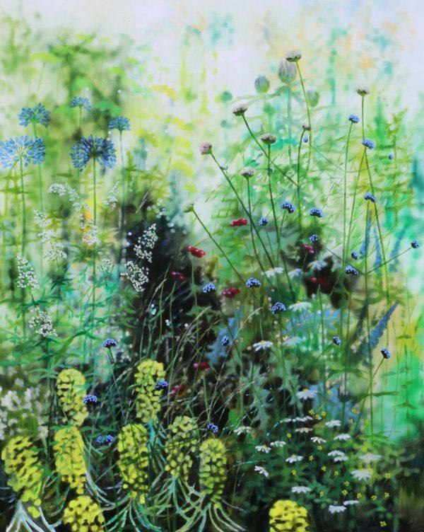 Dylan Lloyd Summer Island border 2020 II. 100 x 80cm £1600