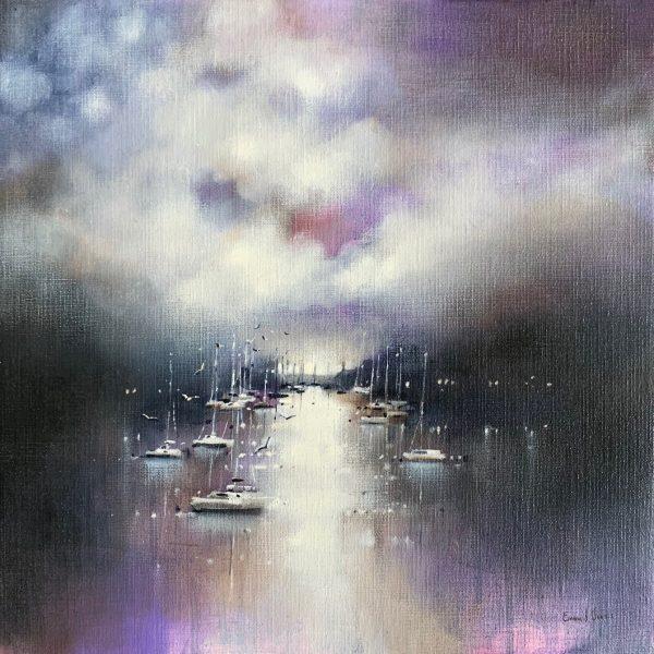 Emma S Davis - After the rain, River Dart