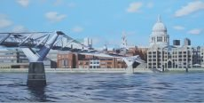 Millennium Bridge, London 122x61 £2250