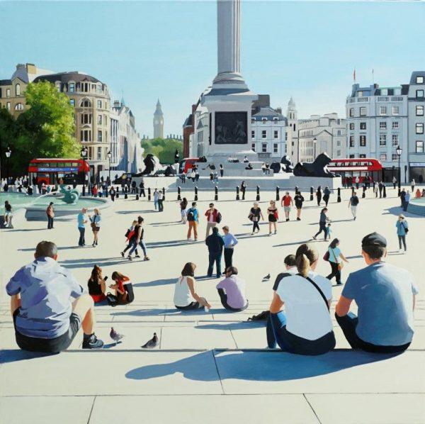 Summer Sun, Trafalgar Square