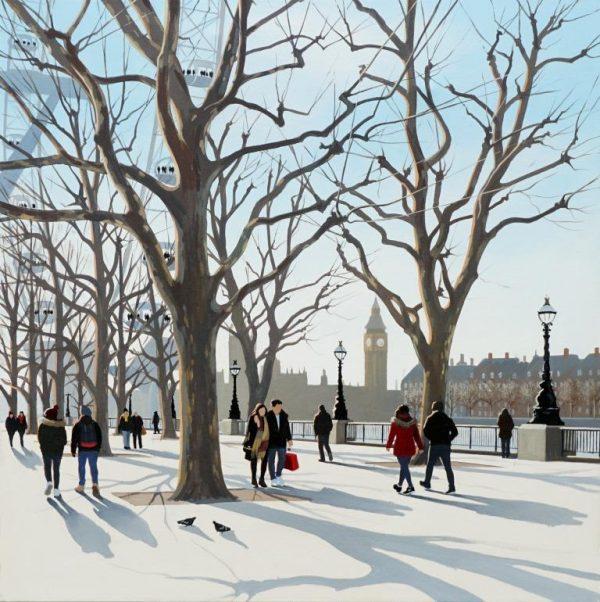 Winter View II 60x60 £1295