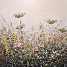 Marie Mills - 'A blessing from nature' 76cm x 76cm