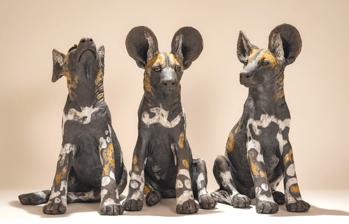 Nick Mackman Wild Dog Pups
