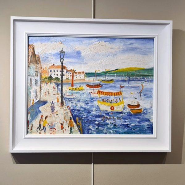 Frame Simeon Stafford Summer at Bayards Cove, Dartmouth 64x35 £1500