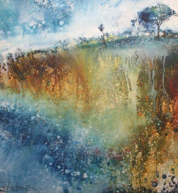 Hawthorn on the Hill, Leusdon Common (65 x 70cm)