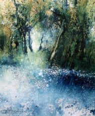 Into the Blue (43 x 52cm)