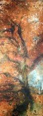 Magnificent Gnarly Oak (32 x 83cm) (002)