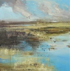 Marshland against the elements series 60x60cm £945