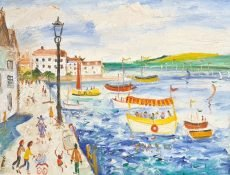 Simeon Stafford Summer at Bayards Cove, Dartmouth 64x35 £1500