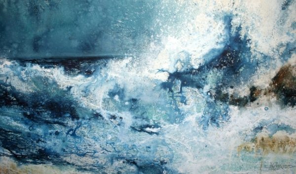 With All of This (70 x 120cm)