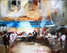 DAVID NORMAN MARKET DAY SARLAT 24X14