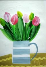 EMMA WILLIAMS TULIPS 10x10