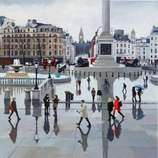 After the Rain, Trafalgar Square 61x61 £1295 - Copy