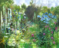 Coastal Garden II Dylan Lloyd £1600 100x80