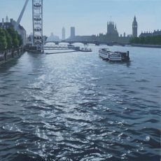 Early Evening Light, Westminster 76x76 £1995