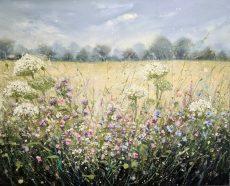 Marie Mills Meadowsweet 100x80