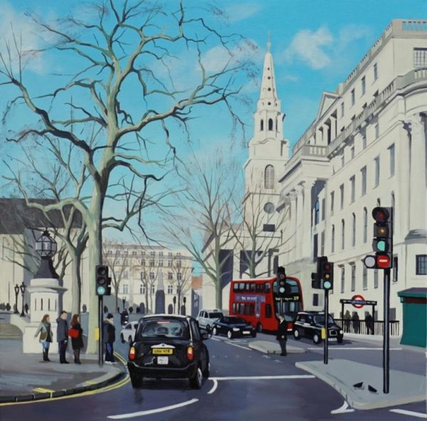 St Martin in the Fields 61x61 £1295