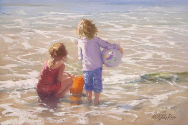 Just watching the sea 30x20 £685