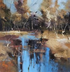 On the edge of the forest V1 90x90cm £1595
