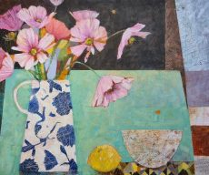 Bowl, Lemon and Julia's Flowers. 50x60cm £645