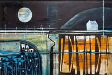 The light of the moon.Heidi Archer.76 x 52cm
