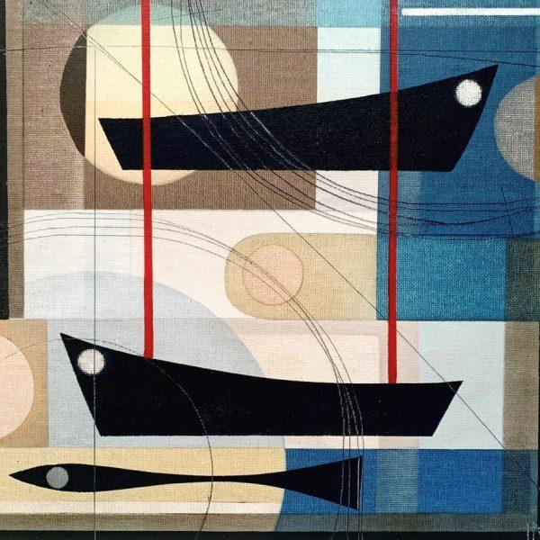 Tide times.Heidi Archer.30 x 30cm