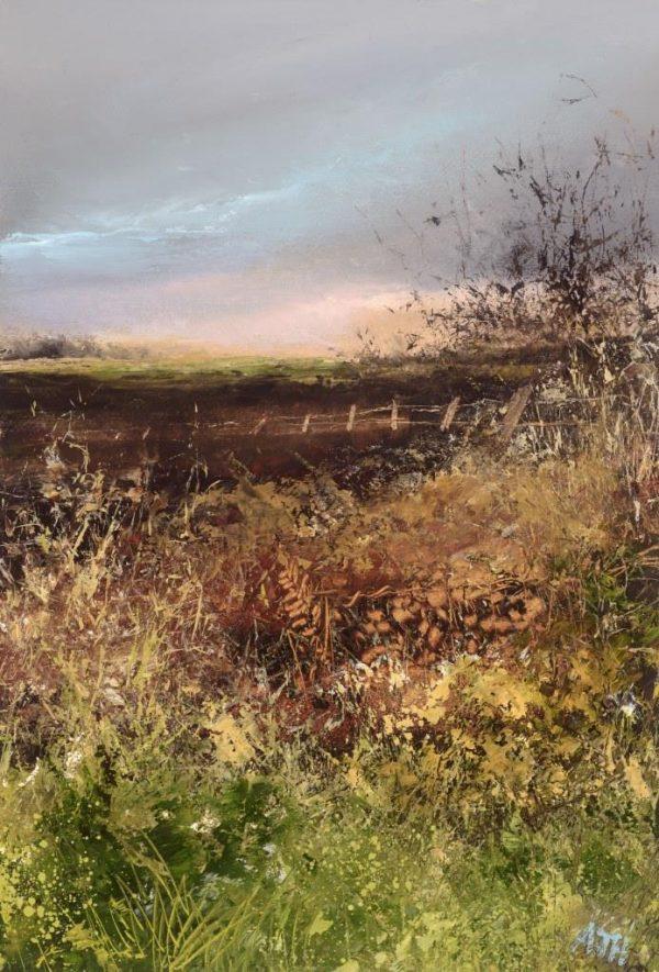 November Light No2 Little Dartmouth - oil on paper - 19 x 13.5cm - £475.