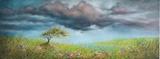One of those Evenings. 80x30cm unframed £950