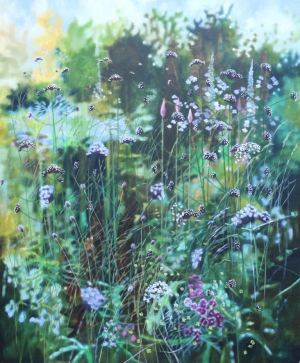 Dyan Lloyd - Heading West I. 120 x 100cm, unframed
