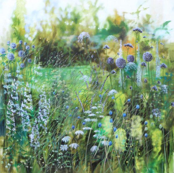 Dylan Lloyd - Look closer and closer II. 80 x 80cm unframed