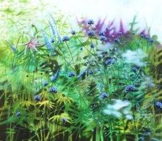 Dylan Lloyd - When the chance sight III, 55 x 50cm, oil on canvas, framed