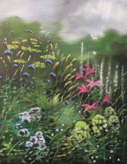 Dylan Lloyd - Wild once I. 40 x 50cm oil on linen. framed