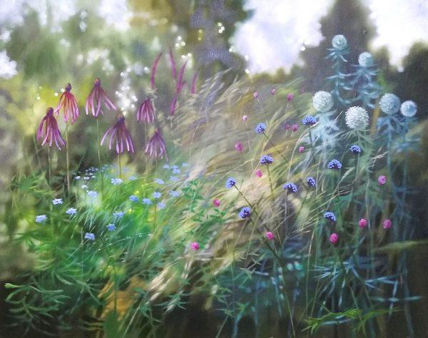 Dylan Lloyd - un jour ou l'autre II 75 x 60cm, oil on canvas. framed