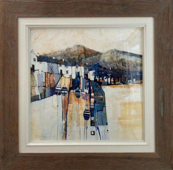 Connemara Harbour 1 - showing frame