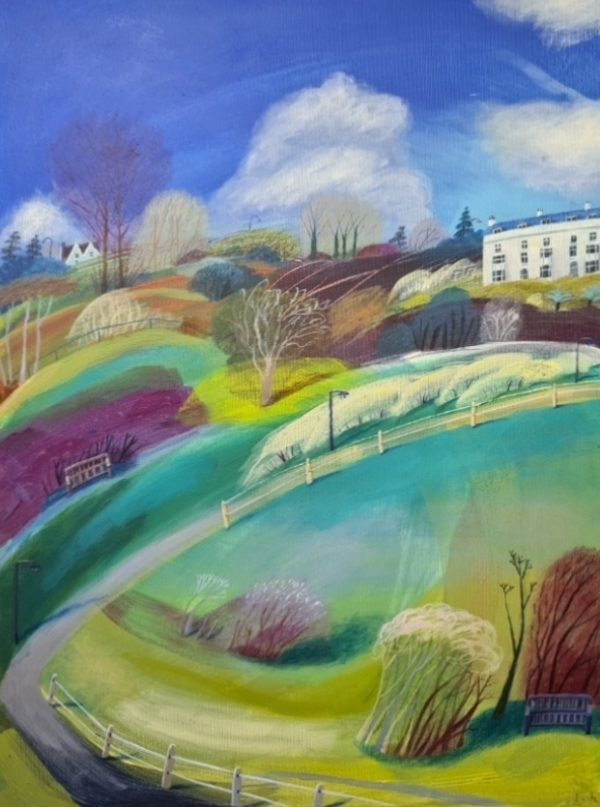 Debbie Lush - A room with a view 61x45 £700