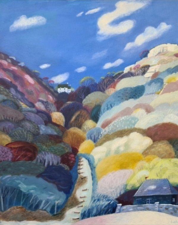 Debbie Lush - Coastal Path 40x50cm £600