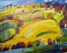 Debbie Lush - Somewhere high on a hill 76x61 £1100