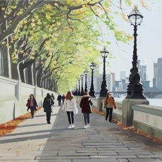 Early Autumn, Southbank 51x51 £995